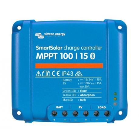 Régulateur de charge solaire Smartsolar MPPT 100/15